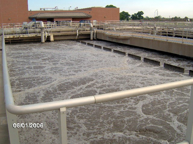 aeration basins in waste water treatment Why is water is becoming dark black in an aeration tank in a wastewater treatment plant  all waste water treatment methods mainly aims to eliminate the organics present in the waste waterthe.