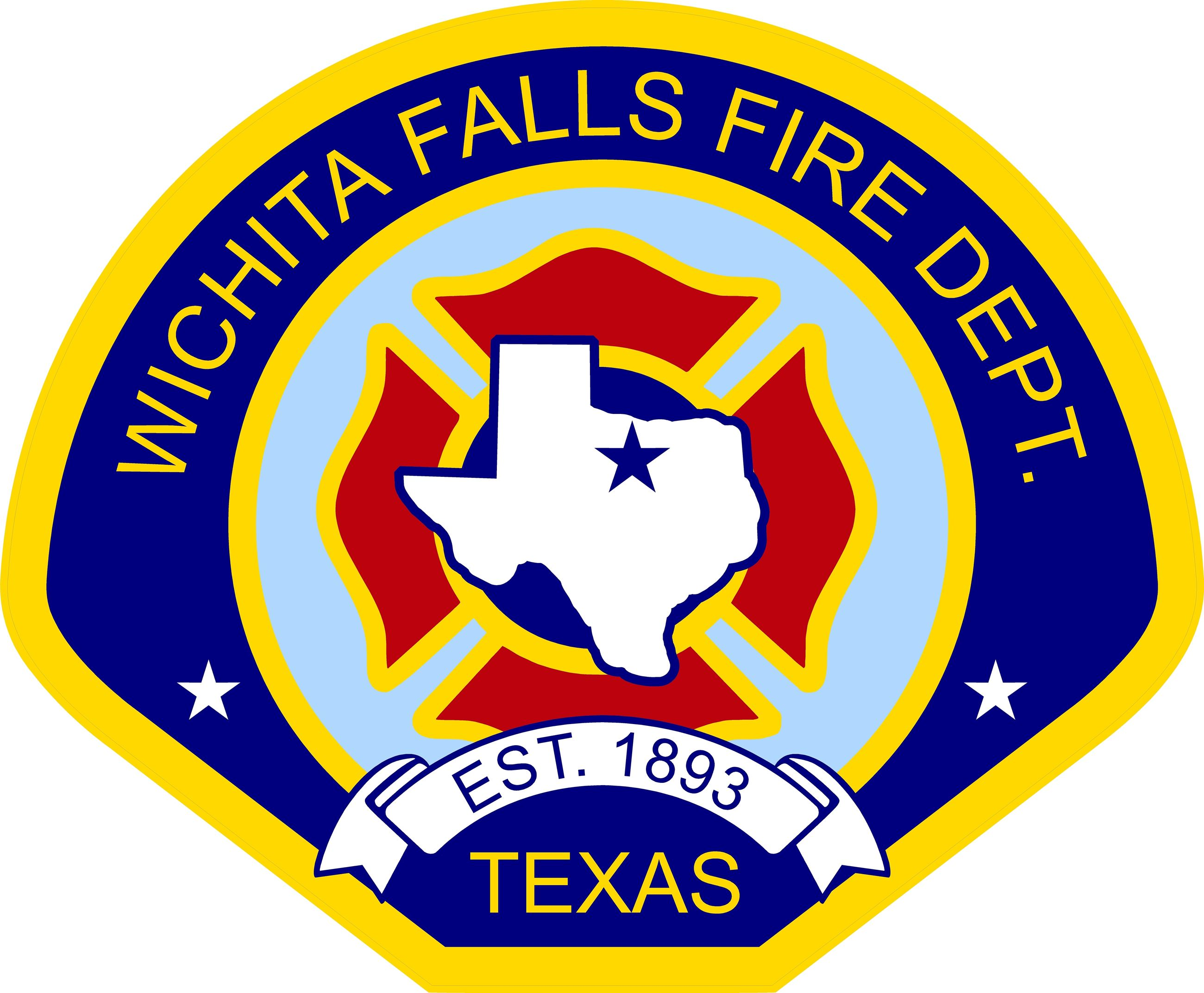 WICHITA FALLS FIRE DEPARTMENT DECALS