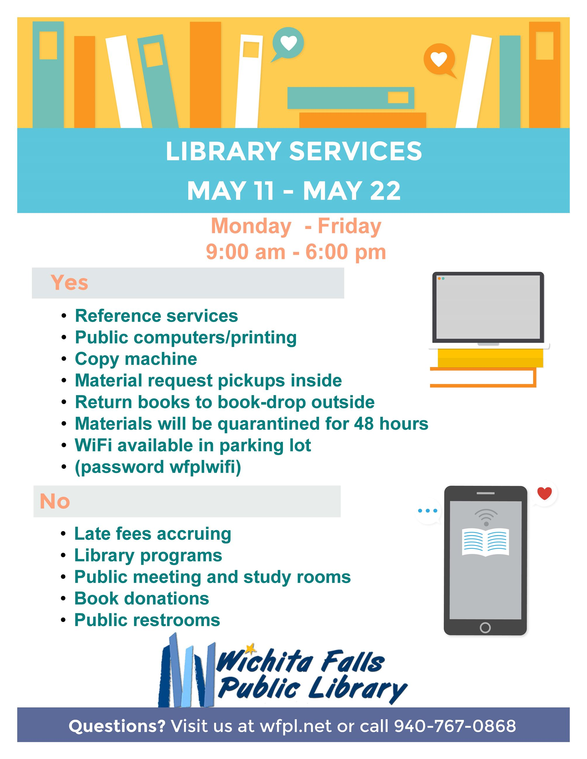 Library Services May 11