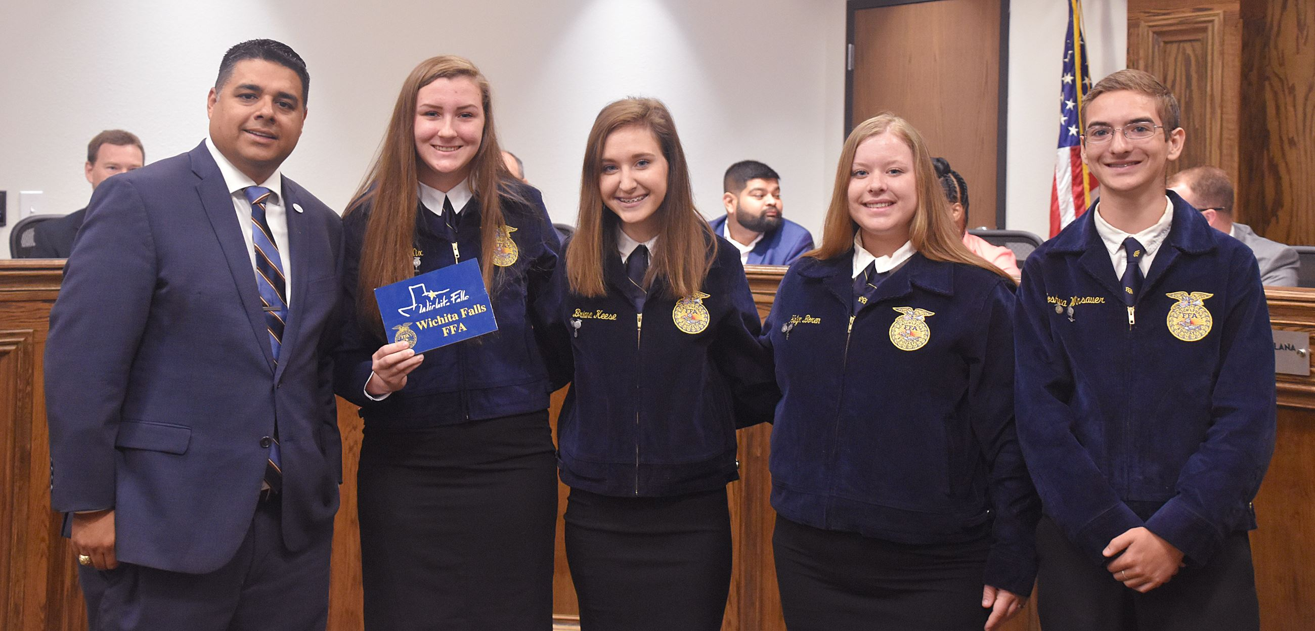 Daniel FFA Council Meeting