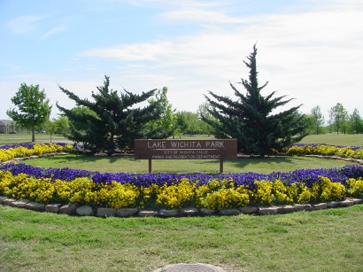 Lake Wichita Park North Flowerbed